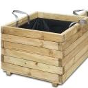 Деревянные контейнеры для растений
